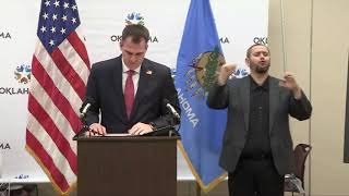 Gov. Stitt to implement 'safer-at-home' policy