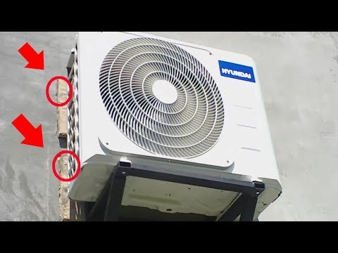 THE FASTEST WAY TO INSTALL THE AIR CONDITIONER
