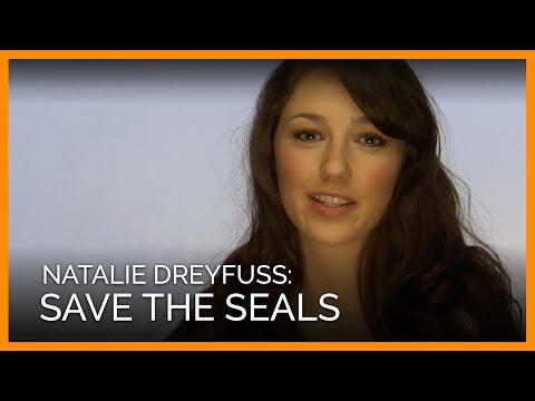 Natalie Dreyfuss' 'Save the Seals' Photo Shoot