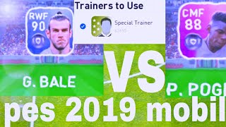 Tips for Players Training in Pes 2019 Mobile