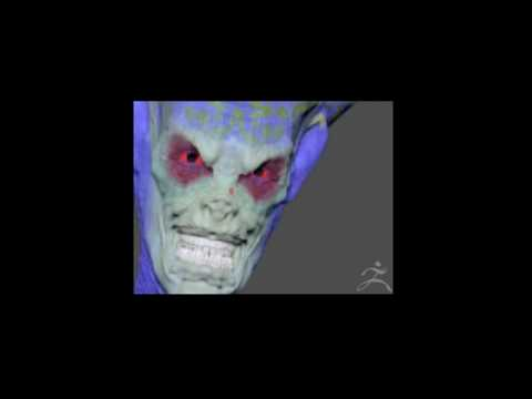 Brian Wade FX - ZBrush Alien Head Test 1- ZBrush M...
