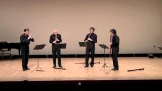 森山直太朗の「虹」をリコーダー四重奏で。 2011年6月5日 演奏:積志リ...