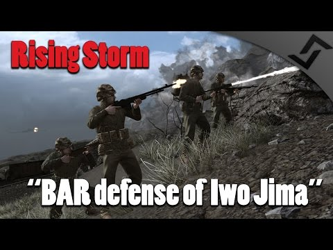 Rising Storm - BAR Defense of Iwo Jima - US Marines Gameplay - [60 FPS]
