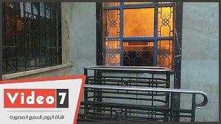 بالفيديو .. شباب تذاكر السكة الحديد للوجه القبلى بمحطة مصر بدون موظفين