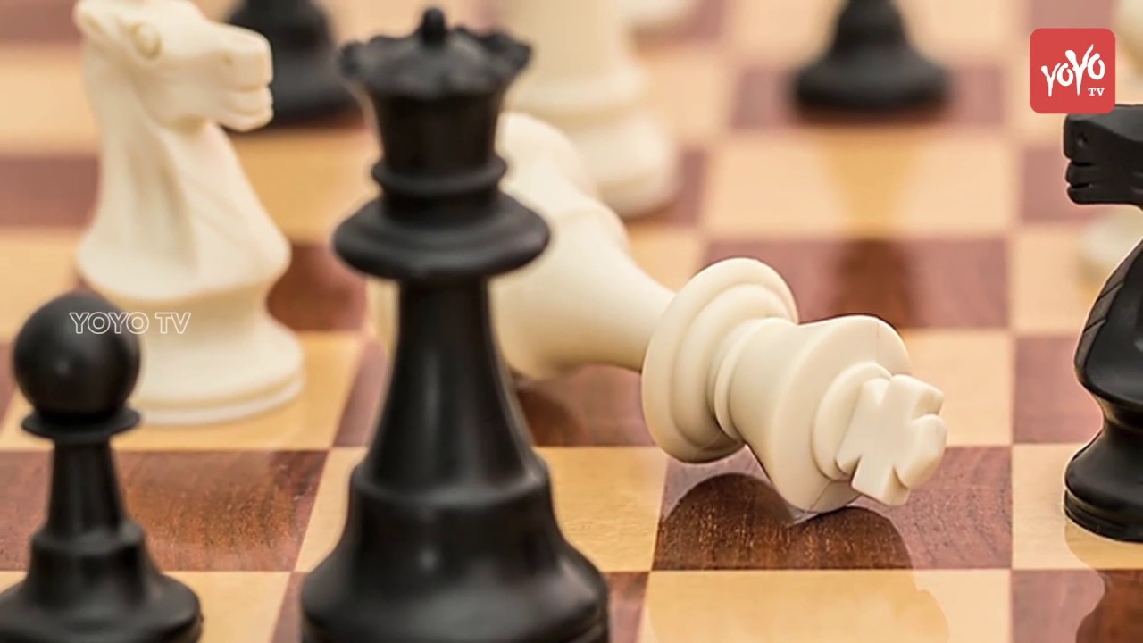Viswanathan Anand Fires on World Chess Championship 2018 Logo   Latest  Telugu News   YOYO TV Channel
