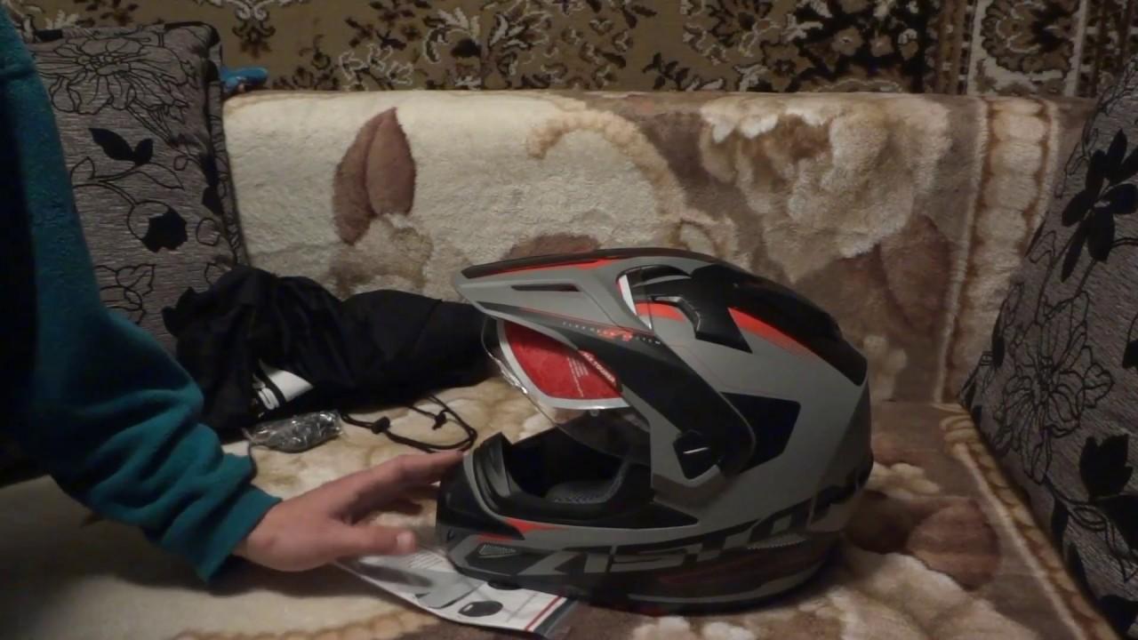 4b9074b68b8 Посылка из Москвы и обзор шлема Astone Cross Tourer Adventure. - YouTube
