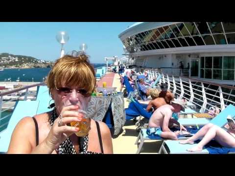 Discovery 2 Cruise Ship TUI Thomson Mediterranean 7 days June 2017
