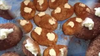 """Вкусное Пирожное """"Картошка""""из сухарей.Пошаговый видео рецепт.Delicious Cake """"Potato"""""""