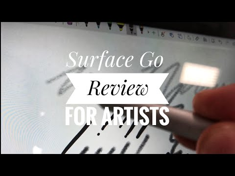 Surface Go for Artists - first look