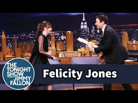 Felicity Jones Demos Her Badass Star Wars Fight Moves on Jimmy