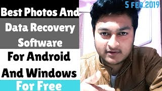 Recover All your Deleted videos Instantly  Both on Android and Windows Recover all your Deleted data