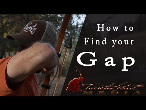 Gap Shooting With Traditional Archery