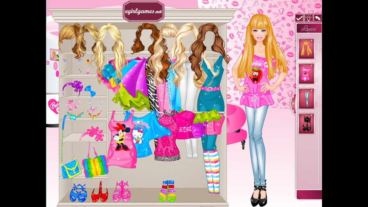 Girl style dress up games