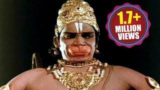 Sampoorna Ramayanam Action Scenes - Hanuman Fight With Lankini
