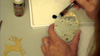 Reindeer Games Scroll Sawn Ornaments Part 5