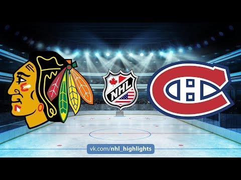BLACKHAWKS VS CANADIENS October 10, 2017 HIGHLIGHTS HD