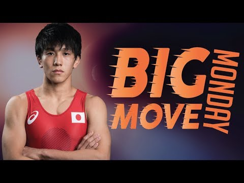 Big Move Monday -- OTOGURO T. (JPN) -- 2018 Senior World C'ships