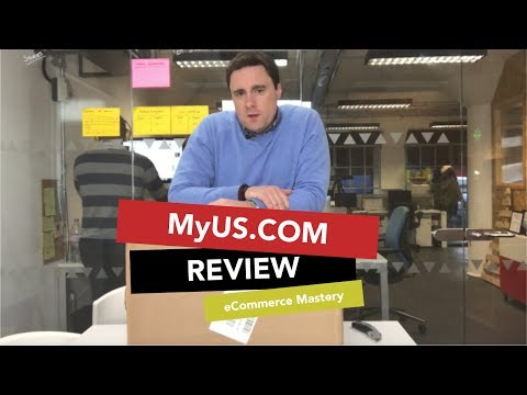 eCommerce tips: Shipping orders from the US to UK- how to do it well ! 'MyUs.com'  review,.