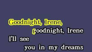 DK096 17   Standard   Goodnight Irene [karaoke]