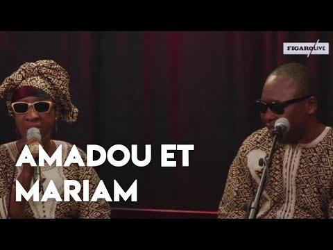 Amadou et Mariam invités de Figaro Live Musique