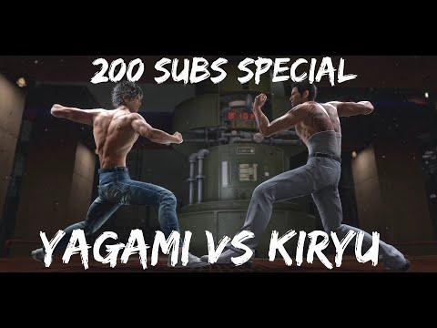 Yakuza Kiwami 2 200 Subs Special: Yagami vs Kiryu |