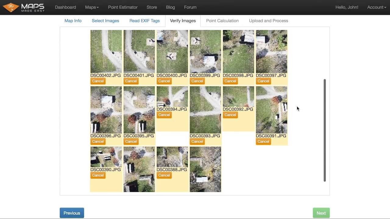 Maps Made Easy - Aerial Imagery Stitching