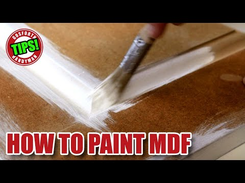 HOW TO PAINT MDF - Painting MDF Masterclass - Gosforth Handyman Tips Library GHTL#9 [82]