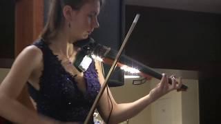 Muzyka na spotkaniu opłatkowym Lubliniec Radomsko - SKRZYPCE ELEKTRYCZNE