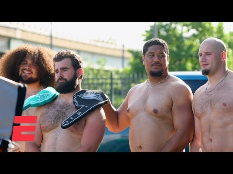 Eagles Offensive Line In The Body Issue: Behind The Scenes | Body Issue 2019