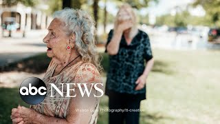 The reunion between a mother and daughter that was 70 years in the making