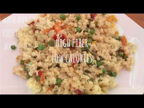 Diet Rice - Brown Rice - High Fiber Low Calorie Meal