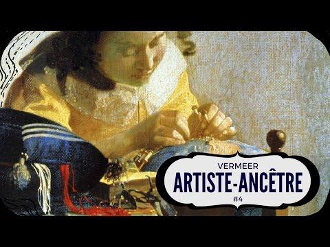 VERMEER (cascades de couleurs miniatures)| Artiste-Ancêtre #4