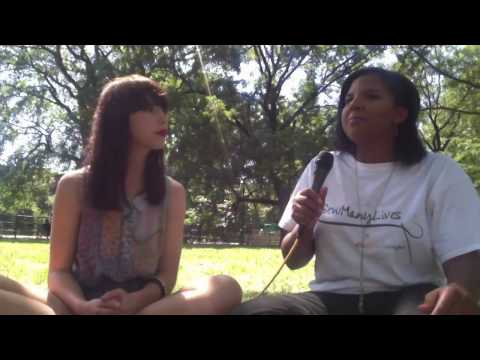 Kimbra interviews Leslie Harden (creator of 'Sew Many Lives')