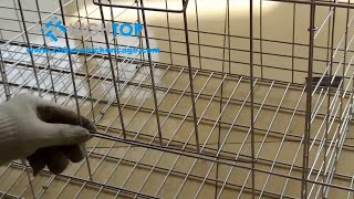 Poultry cage installation( poultry marketing plan)