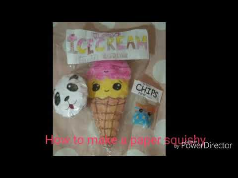How to make a paper squishy