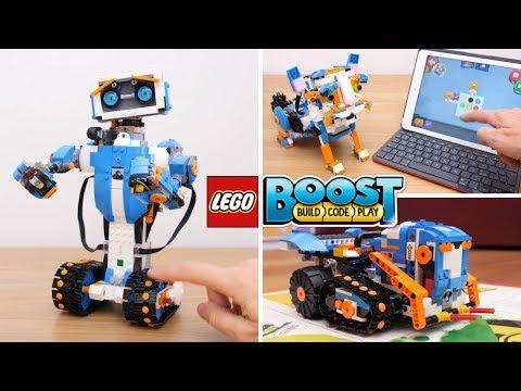 LEGO BOOST: facciamo ROBOT INCREDIBILI programmabili