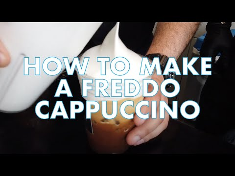 How To Make A Freddo Cappuccino