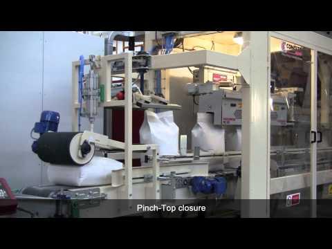 TWIN SPOUT BAGGING MACHINE FOR FLOUR