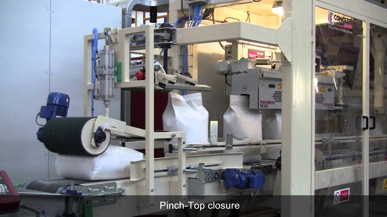 Twin Spout Bagging Machine For Flour Youtube