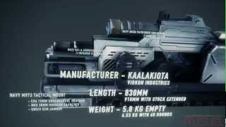 Eve Online - Трейлер Технические характеристики MK25 Gauss Rifle