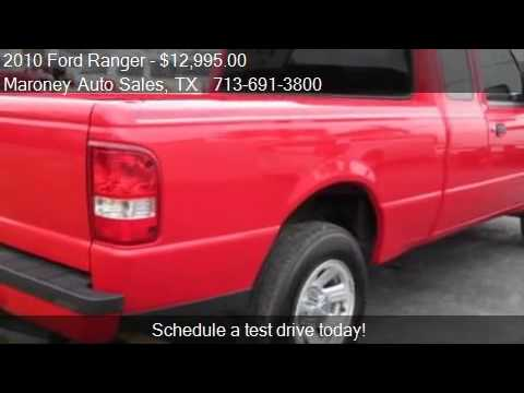 Maroney Auto Sales >> 2010 Ford Ranger 2WD SuperCab 6 Ft Box for sale in Houston ...