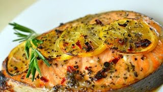 Healthy Salmon and Potato Dinner
