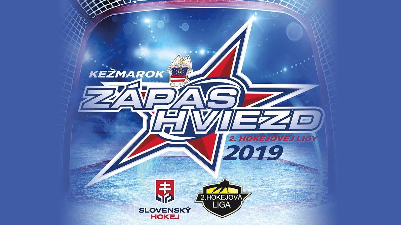 29702feb27f58 Zápas hviezd 2. hokejovej ligy VÝCHOD vs. ZÁPAD - YouTube