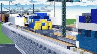 Minecraft CSX Rams COASTER Train Crash Animation