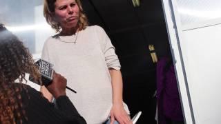 Vanessa Incontrada gira film e Rosana Coacabana  parla con  la Sarta Silvana