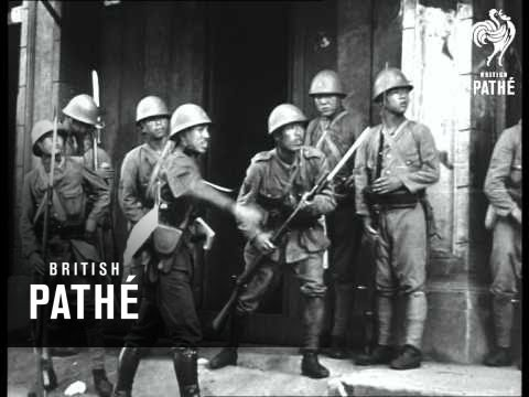China-Jap War - Japanese Troops In Action (1930-1939)