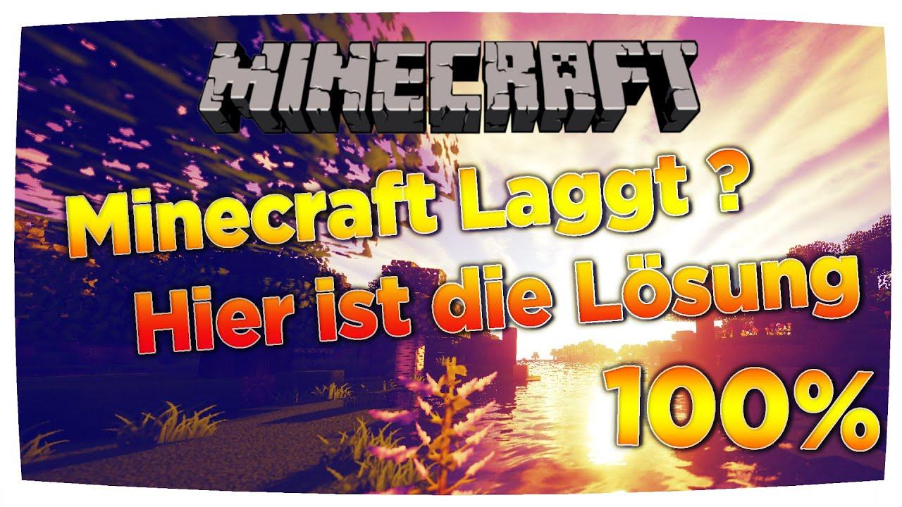 Minecraft Laggt Tipps Um Dein Minecraft Flüssig Spielen Zu - Minecraft flussig spielen