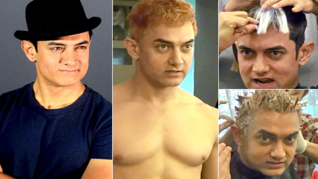 The Day When Aamir Khan Colored His Hair To White | Bollywood Rewind