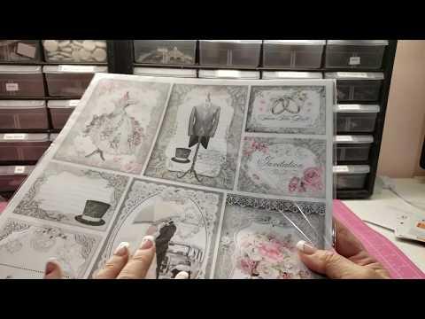 Sold Stamperia And Ciao Bella Paper Destash Youtube