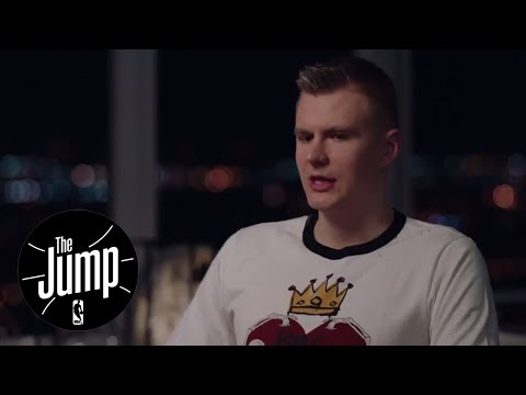 Kristaps Porzingis exclusive  with Rachel Nichols  The Jump  ESPN
